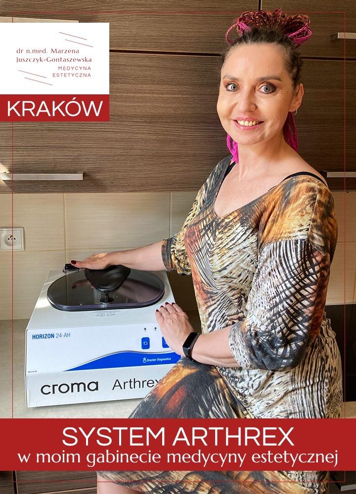 System Arthrex w Krakowie, dr n.med. Marzena Juszczyk-Gontaszewska